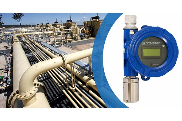 CX Series Fixed Gas Detector Compressor Station